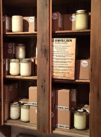 Slowburn Eco Soy Candles